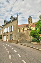 France, the picturesque village of Vetheuil