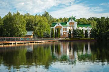Restaurant and hotel complex Orlovskoe Polesye. Russia, Orel reg
