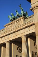 Brandenburger Tor mit Quadriga in Berlin