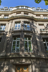 Dusseldorf, Germany, on July 6, 2014. Typical architectural deta
