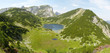 canvas print picture - Bergsee in den Alpen