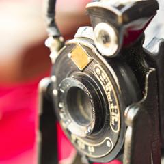 Old used camera