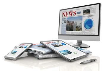 digital news concept