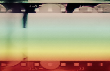 colorful grunge film strip background