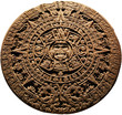 Aztec calendar - on a white background - 67753299