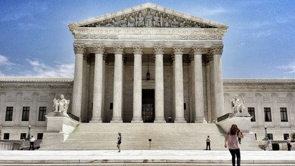 Front steps of the Supreme Court