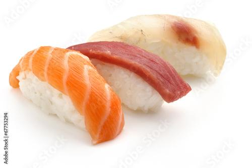 Fototapeta mixed sushi