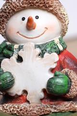 Schneemannfigur