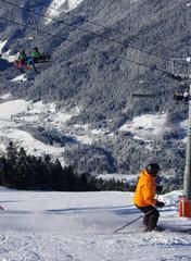 ski de piste - saint pierre de chartreuse