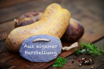 Leberwurst, Rotwurst