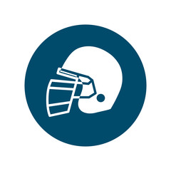 football helmet icon