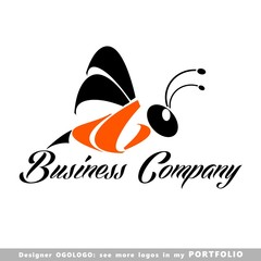 logo, animals, sign, insects, bee, insect,  cartoon