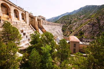 dam at Segre river.  Lleida