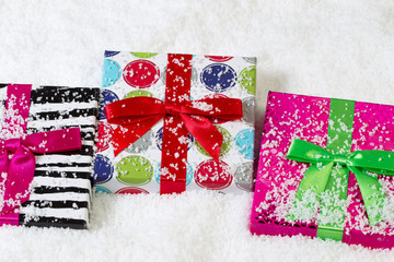 Holiday Wrapped Gifts for Christmas