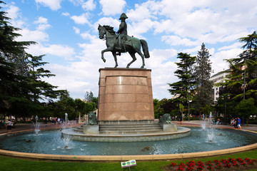 Monument of General Espartero. Logrono