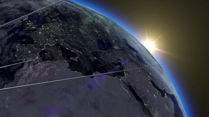 Flight of Sputnik