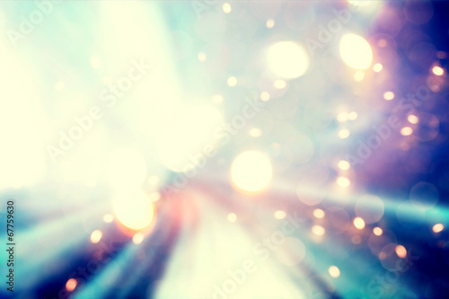 Abstract blue and purple light background