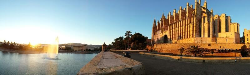 Panoramica Catedral Palma