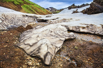 Landmannalaugar, rhyolite mountains of Iceland