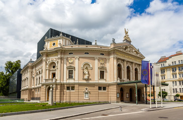 Opera and Ballet theatre of Ljubljana, Slovenia