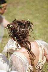 acconciatura di capelli particolare