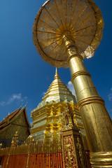 Temple doré de Chang Maï,Thaïlande