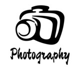 Sketch photography icon poster