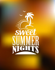 Sweet Summer Nights banner