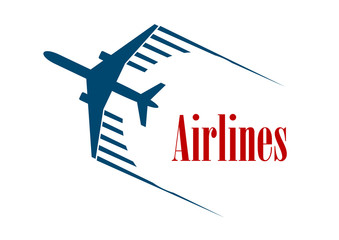 Airlines emblem or icon
