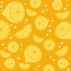 Lemons background texture