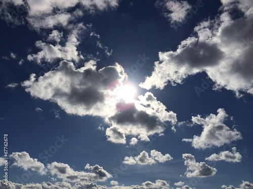 canvas print picture Suncloud