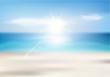 Summer beach background - 67763492