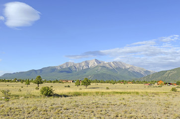 Mount Princeton, Rocky Mountains, Colorado