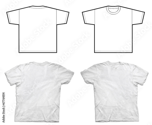 In de dag Poolcirkel White Tshirt