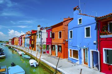 Burano island, Venice, Italy.
