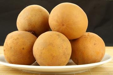 Sapodilla plum, Sapota (Manilkara zapota