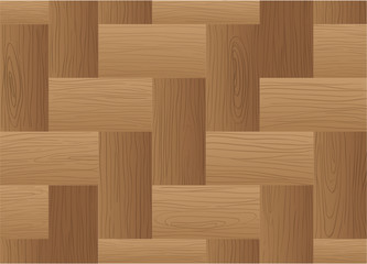 A topview of a brown wooden tile