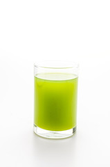 Kiwi juice glass