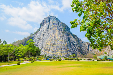 Buddha Mountain in pattaya Thailand