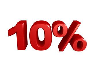 10 percent icon