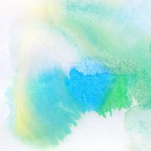 Résumé coloré aquarelle peinte fond
