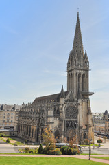 Saint Pierre Abbey Caen