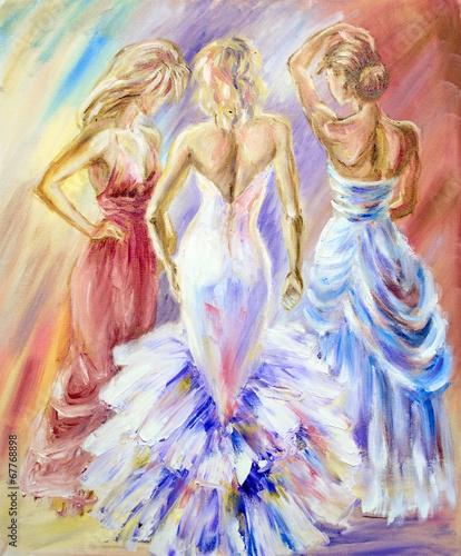 piekne-kobiety-w-pilke-obraz-olejny