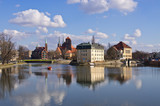 On the islands in Wroclaw, Poland