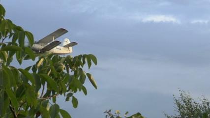 slow motion on utility plane