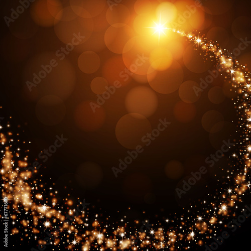 Vector Illustration of an Elegant Bright Background