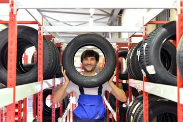 Aufbewahrung und Reifenwechsel durch Fachmann