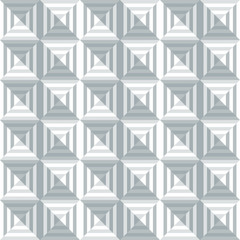Geometric pattern  seamless Background in square shape - Illustr