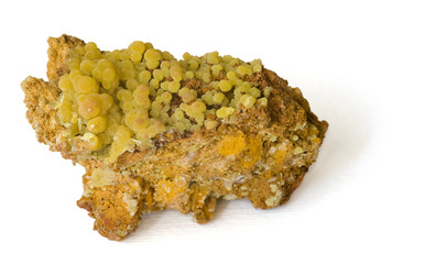 Mimetite from Mexico. 7.5cm across.