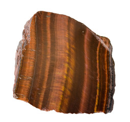 Polished Tiger's eye from Tanzania. 5cm high.